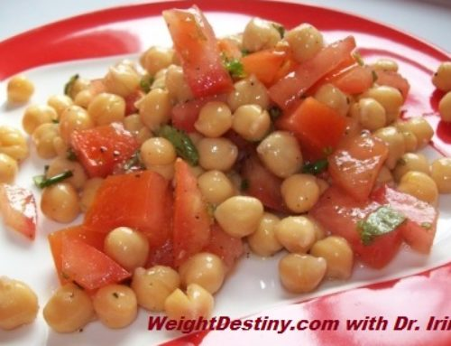 Spring Chickpea Salad