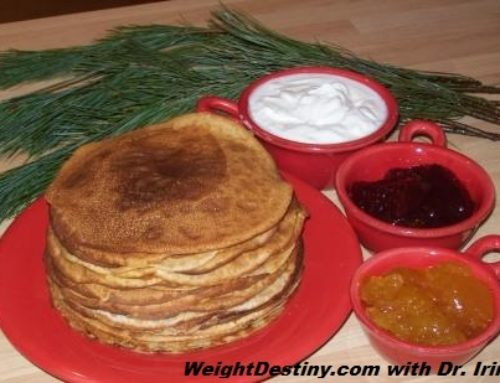 Oatmeal Crepes for Weight Loss