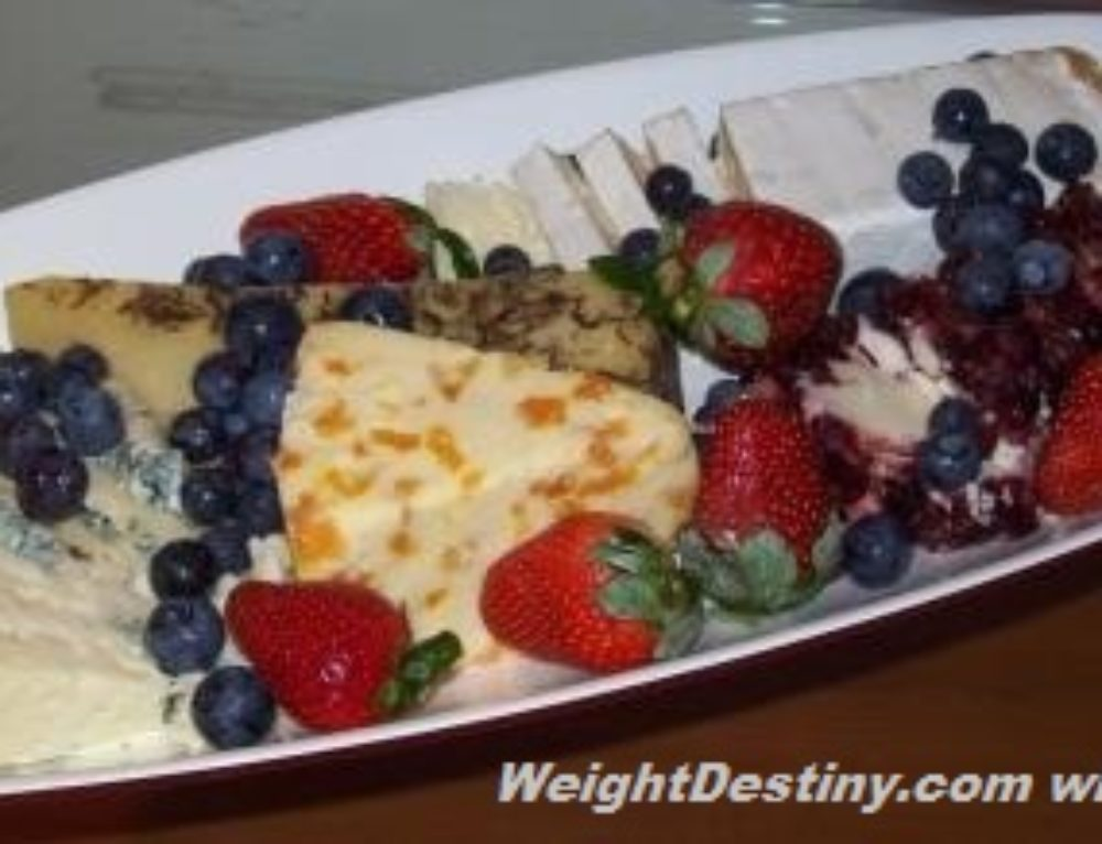 Cheese Platte for Dessert