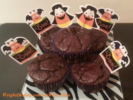 Low GI recipes_Dark Chocolate Cupcakes_Healthy Desserts