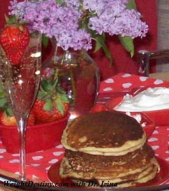 Weight Loss Help, Glycemic Index,Low GI recipes_Easy and Healthy Oatmeal Pancakes Recipes