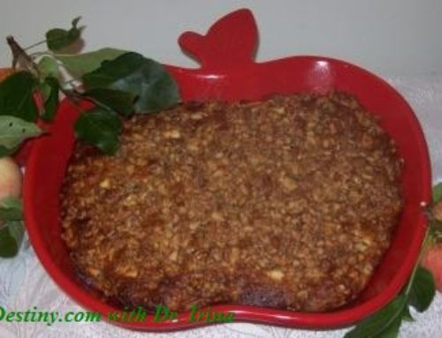 Apple Walnuts Cake